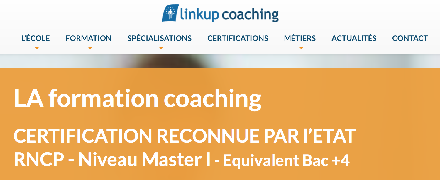 Formation Coach avec Linkup Coaching